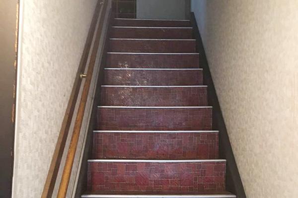 学校寮 階段